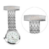 Personalised Nurse's Fob Watch - ideal gift for a newly qualified medical professional, NHS, retirement, birthday, Christmas